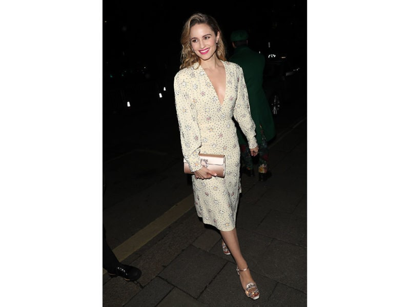 Dianna-Agron-as-she-attends-the-Netflix-BAFTA-after-party-at-Chiltern-Firehouse-wearing-the-Flower-Strass-Buckle-Envelope-Flap-and-RV-Broche-Platform-Pump-roger-vivier-press-office