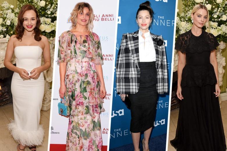 Margot Robbie, Charlize Theron e le altre star meglio vestite della settimana