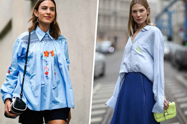Cosa manca nel guardaroba della prossima stagione? Una camicia azzurra, of course!