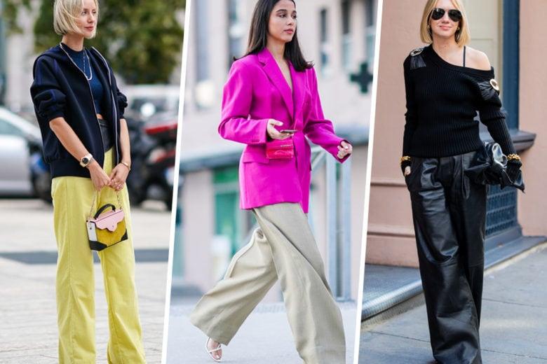 Pantaloni a palazzo: 14 modelli per la primavera 2020