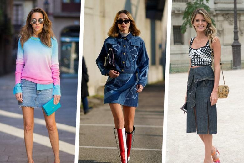 É il momento di sfoderare la gonna di jeans: ecco i modelli più cool da avere!