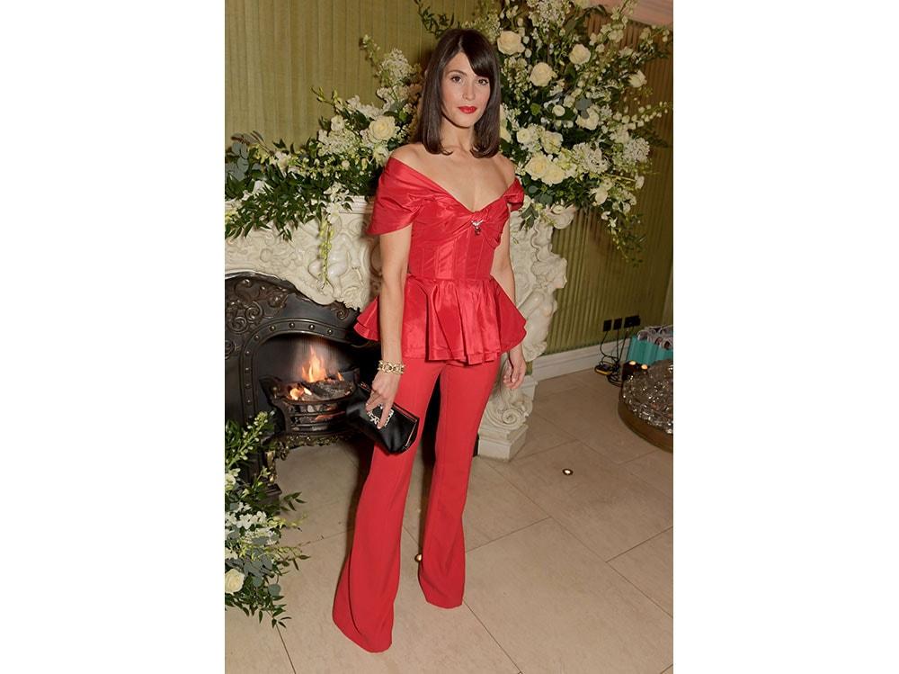 Gemma-Arterton-as-she-attends-the-Netflix-BAFTA-after-party-at-Chiltern-Firehouse-wearing-the-Flower-Strass-Buckle-Soft-Clutch-roger-vivier-press-office