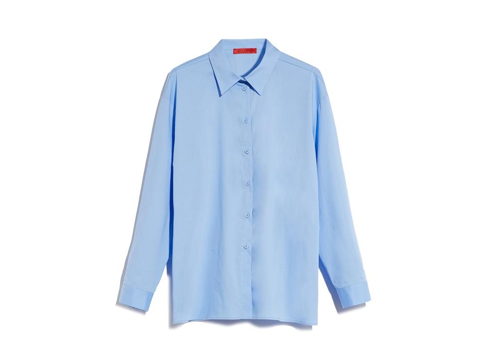 MAX-AND-CO-camicia-in-popeline-di-cotone-stretch