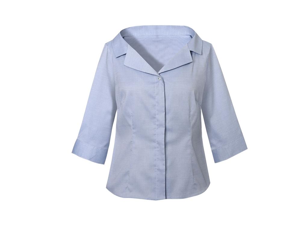 NARA-CAMICIE-camicia-basic-con-scollo-a-V