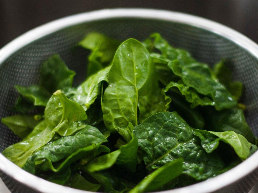 Spinaci verdure