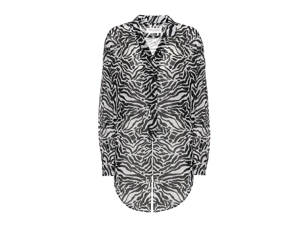 camicia-zebra-saint-laurent-mytheresa