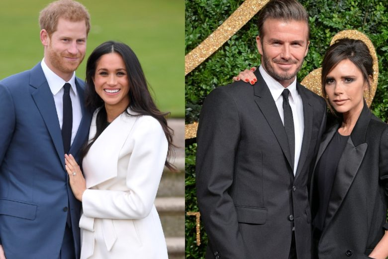 """Harry e Meghan studiano i Beckham per copiare il successo del loro """"brand"""" famigliare"""