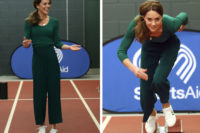 """Kate Middleton: il look sporty chic (e """"low cost"""") che stravince"""