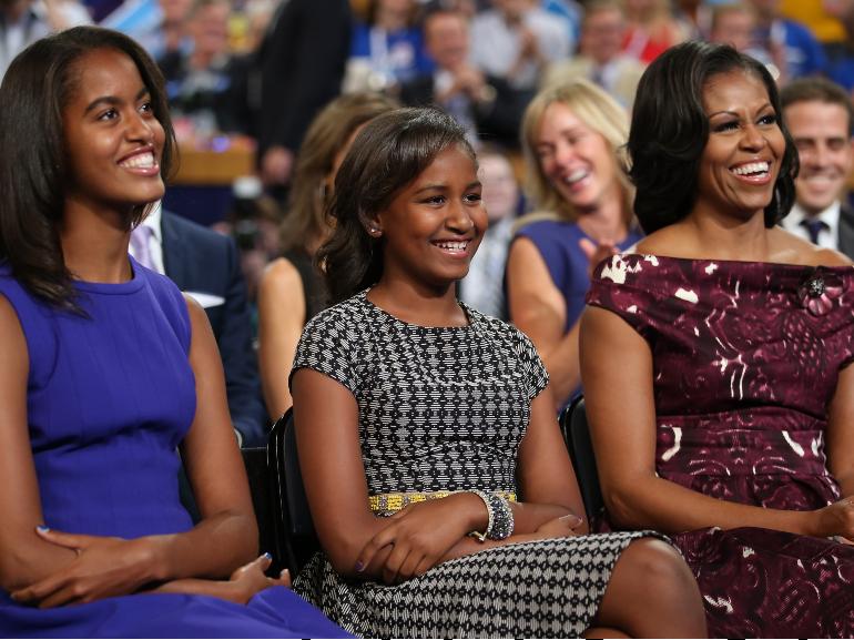 michelle obama figlie 1