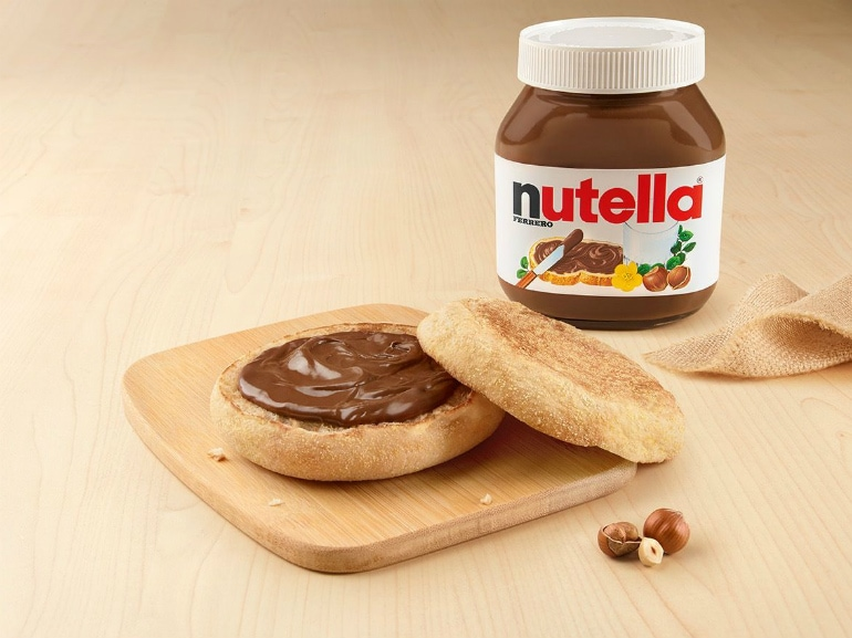 nutella mc crunchy
