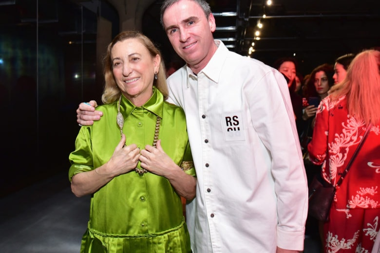 Raf Simons sarà co-direttore creativo di Prada