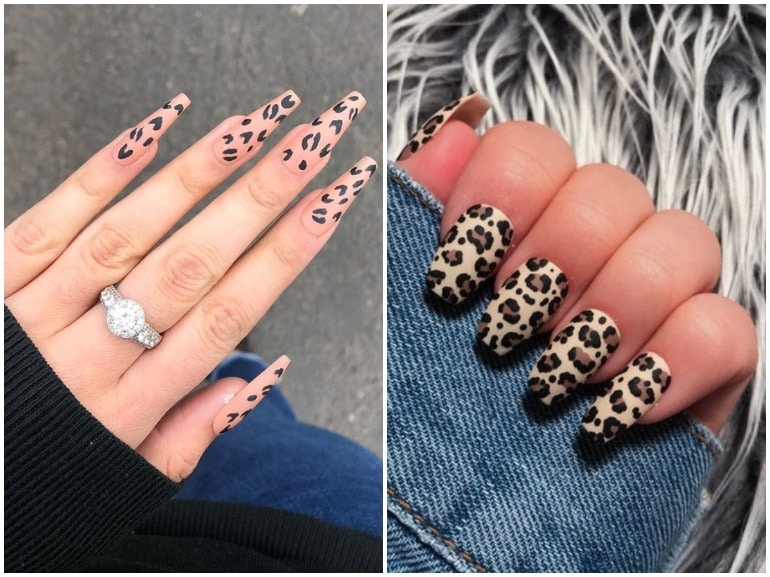 unghie leopardate nail art animalier cover mobile 01