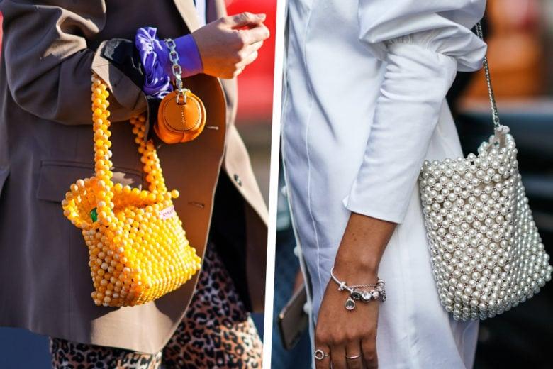 Una bag con perline per… non prendersi mai troppo sul serio!