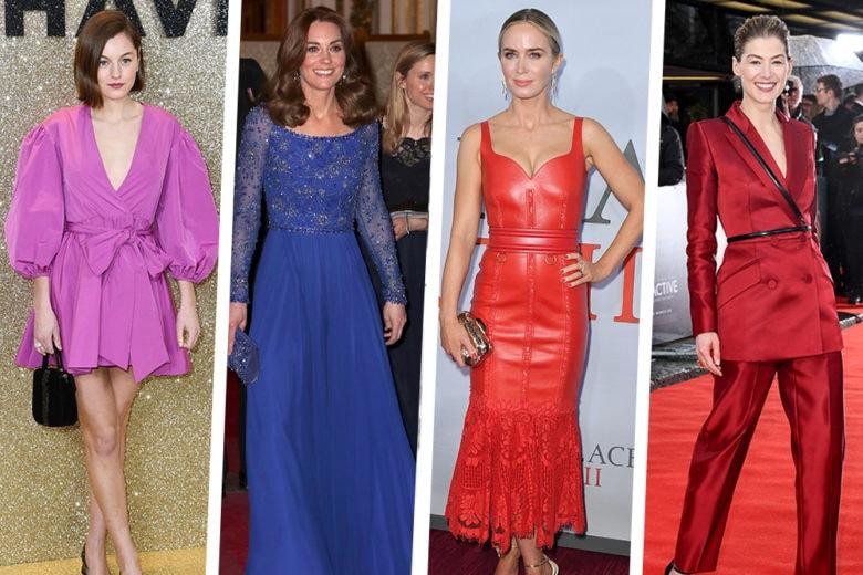 Kate Middleton, Emily Blunt e le altre star meglio vestite della settimana