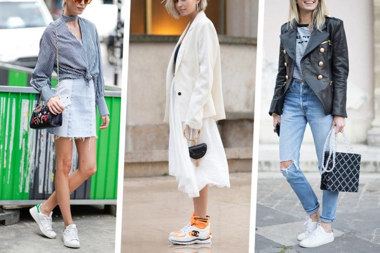 5 look con le sneakers che non vedrete l'ora di indossare