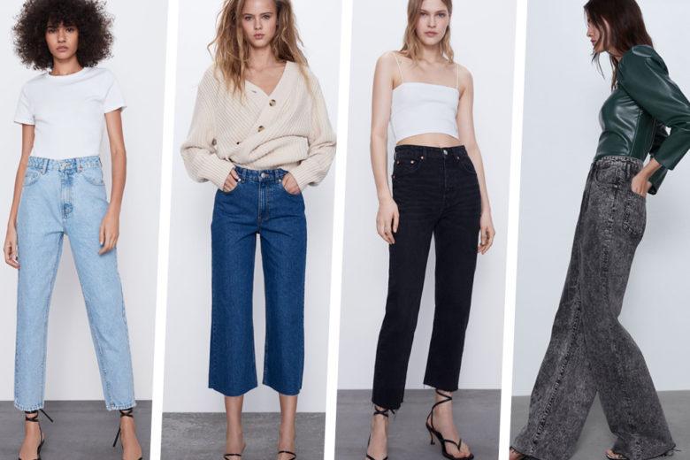 Questi sono i 10 jeans ZARA cult di stagione da comprare in un click!