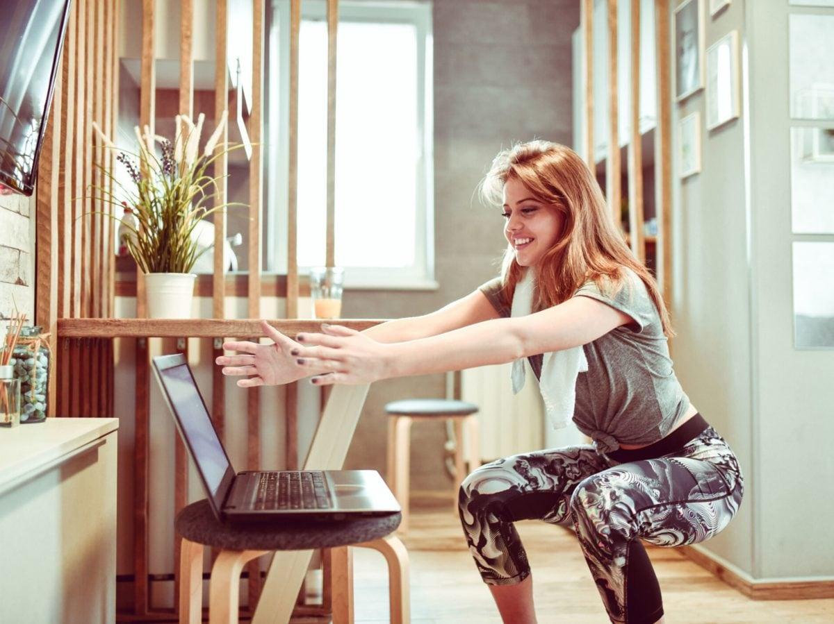 allenarsi a casa in quarantena coronavirus esercizi fitness 4