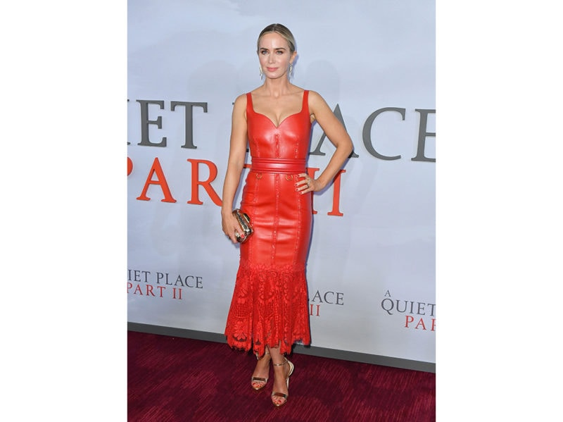 emily-blunt-alla-prima-di-A-Quiet-Place-Part-II-in-Alexander-McQueen-getty-images