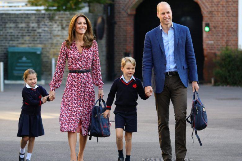 George e Charlotte tornano a scuola (per la gioia di papà William)