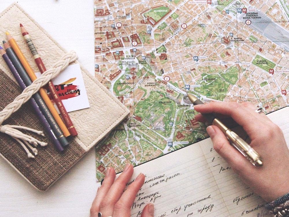 pianificare viaggio