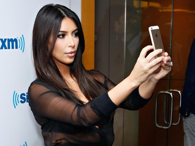 selfie perfetto Kim Kardashian