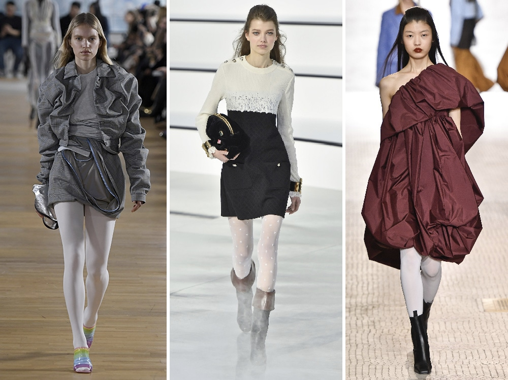 slide-calze-bianche-pfw-yproject-chanel-nina-ricci
