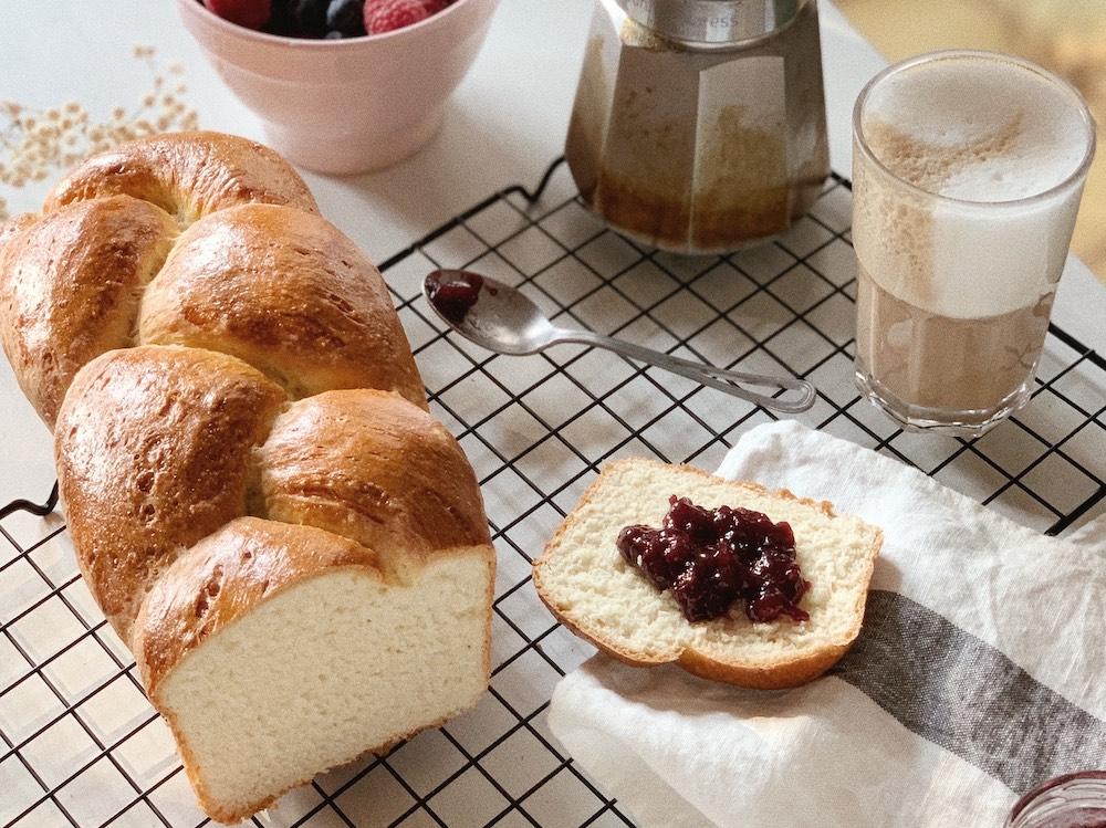 treccia di pan brioche (credit Flavia Priolo)