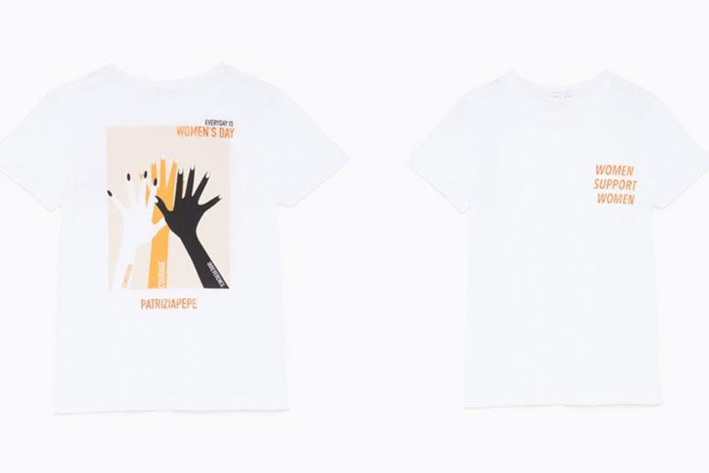 Festa della donna: Patrizia Pepe lancia una capsule di t-shirt simboliche a tema