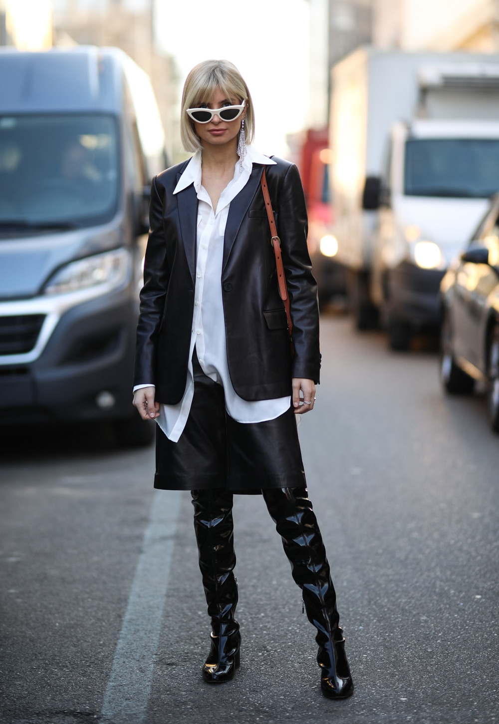 xenia adonts leather look