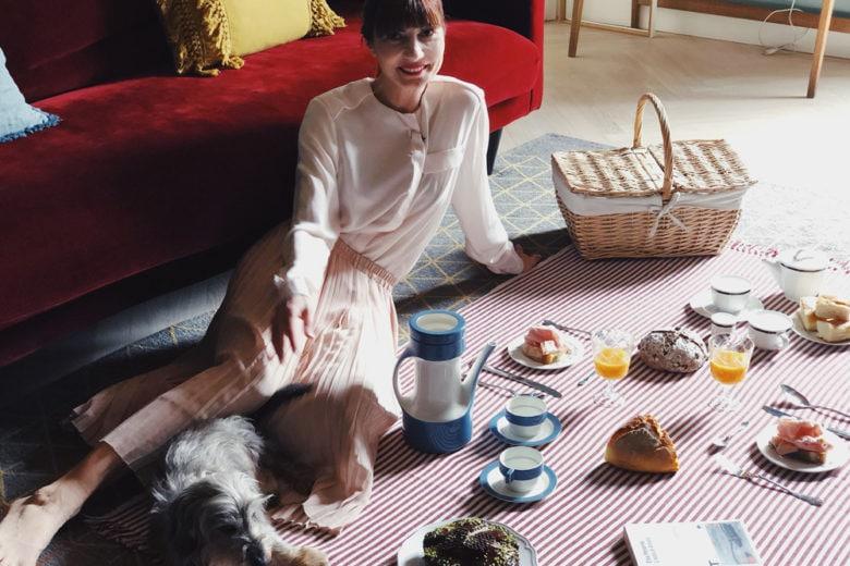 Come organizzare un pic-nic perfetto (sul tappeto di casa)