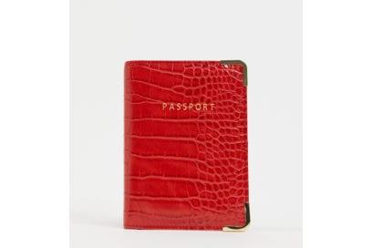 ASOS-DESIGN-croc-passport-holder-in-red-
