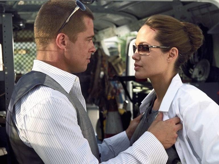 Brad Pitt e Angelina Jolie coppia