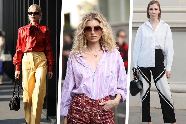 7 camicie per 7 pantaloni: le combo più cool da provare questa primavera
