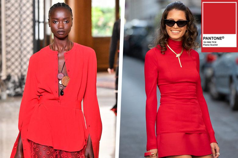 Flame Scarlet: il rosso Pantone che darà un twist ai vostri look!