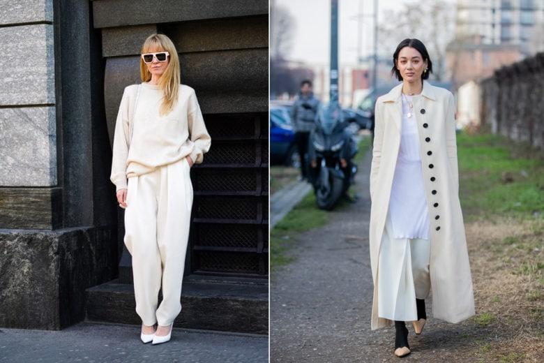 """Total white how to: come indossare il bianco """"from head to toe"""" per la primavera-estate"""