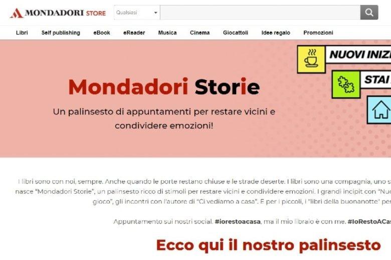 Mondadori Store porta cultura e intrattenimento nelle case di tutti i lettori