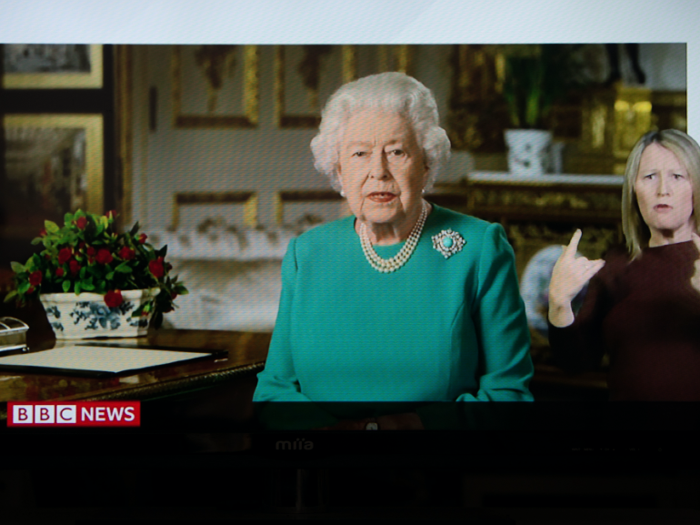 vestito Regina Elisabetta