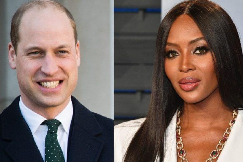 Naomi Campbell racconta di quando ha fatto una sorpresa al principe William con l'aiuto di Lady D