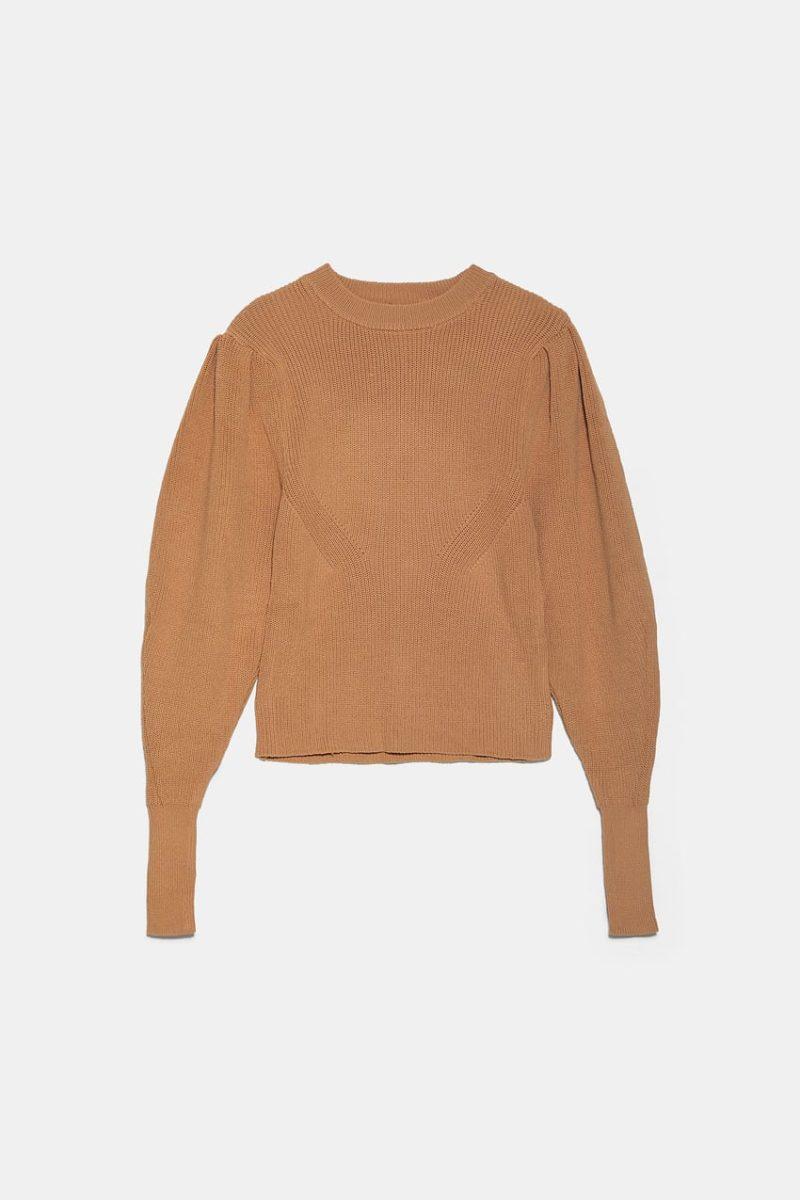 maglione maniche sbuffo ZARA