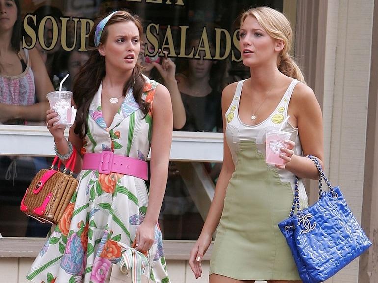 Blair Waldorf vestito a fiori
