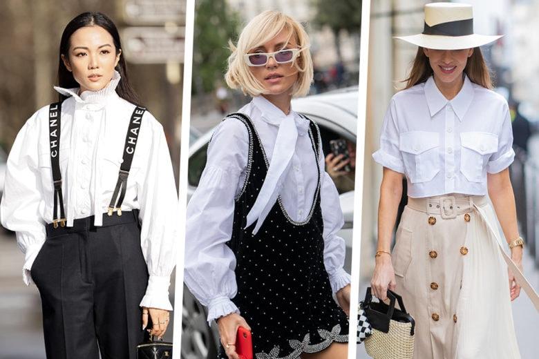 Come indossare la camicia bianca? 8 look delle influencer a cui ispirarsi!