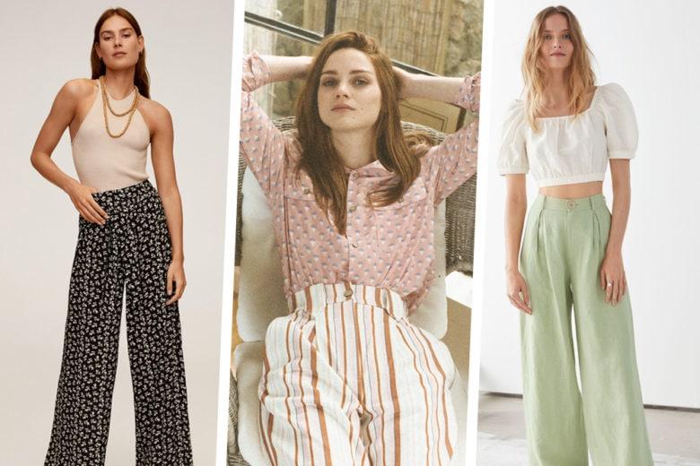 """Pantaloni estivi: 20 modelli  """"fresh & chic"""" come piacciono a noi"""
