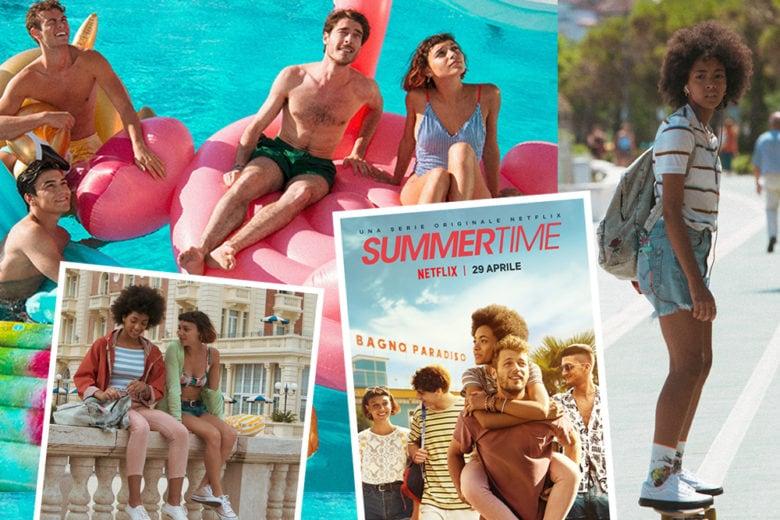 """Un guardaroba alla """"Summertime"""": lo stile cool della nuova serie di Netflix"""