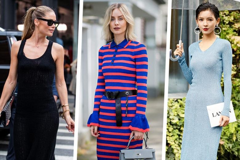 Abiti in maglia: i modelli più chic perfetti anche in questa stagione