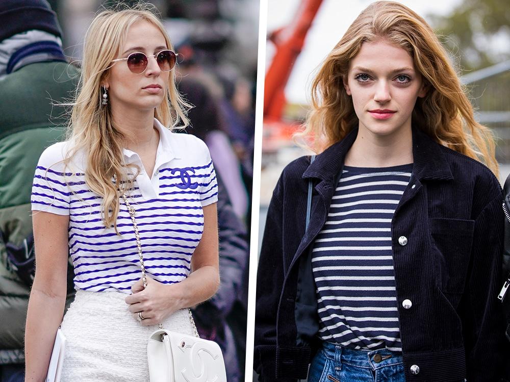 lanciare rifiuto Perfetto  Maglie e magliette a righe: bianche e nere, bianche e blu, il classico di  stile