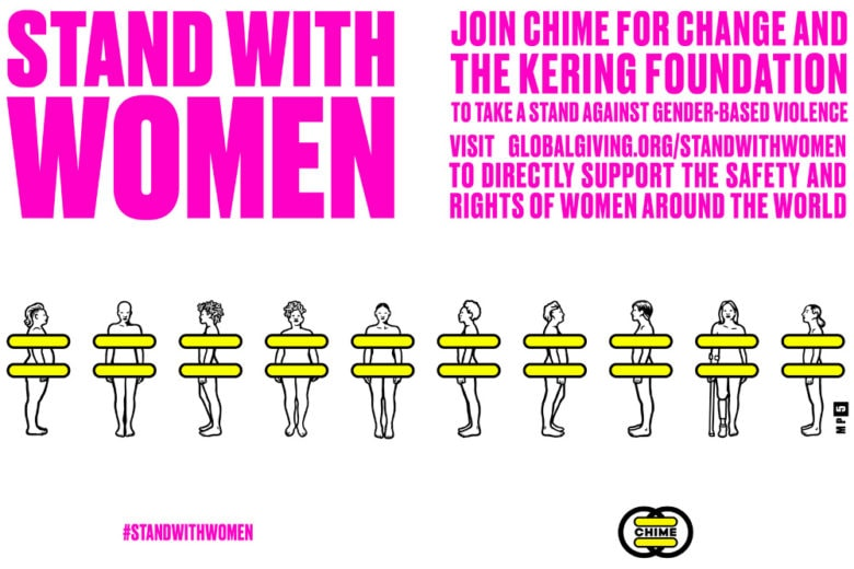 #StandWithWomen: Salma Hayek Pinault contro la violenza di genere assieme a Gucci e alla Kering Foundation
