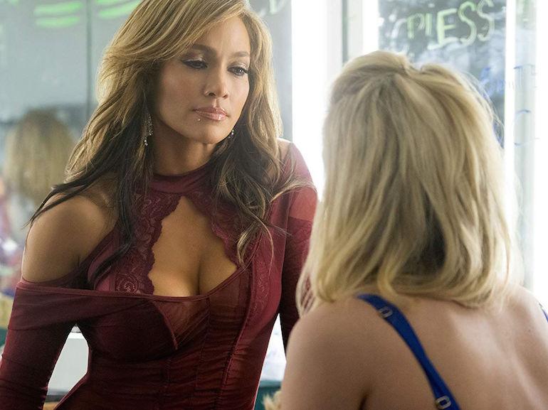 Jennifer Lopez vestito rosso