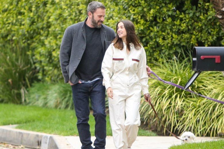 Ben Affleck ha presentato i tre figli alla nuova fidanzata Ana de Armas