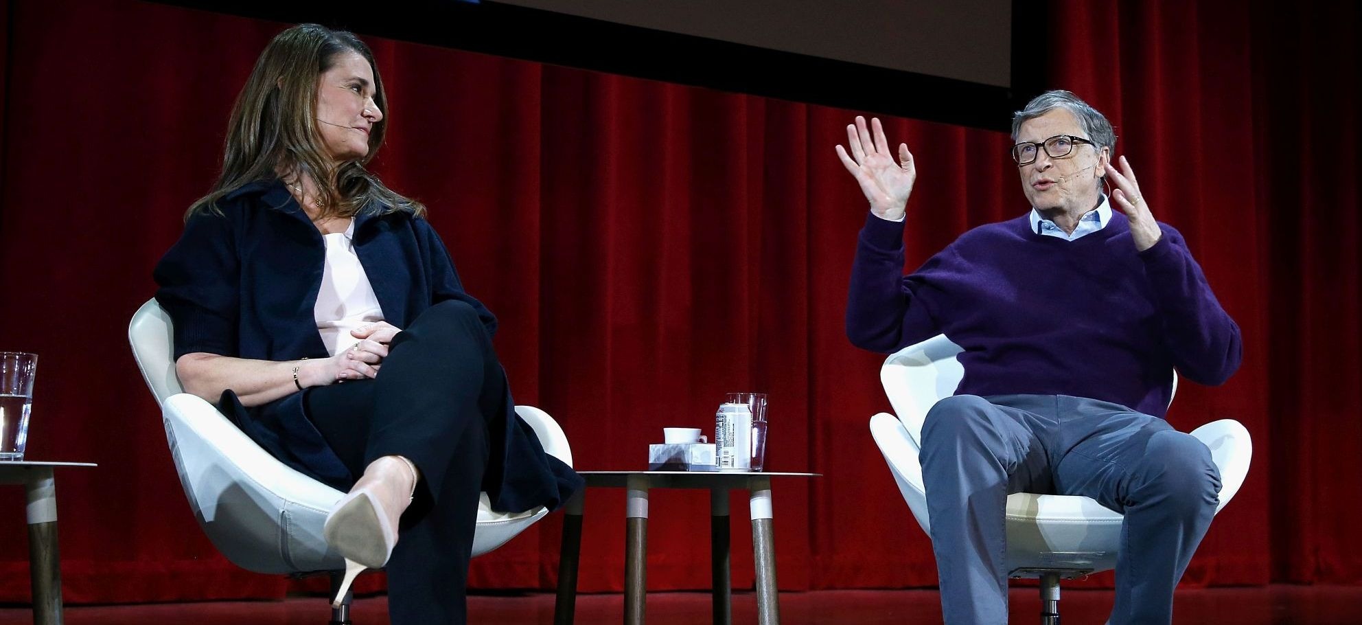 Lin-Manuel Miranda In Conversation With Bill and Melinda Gates