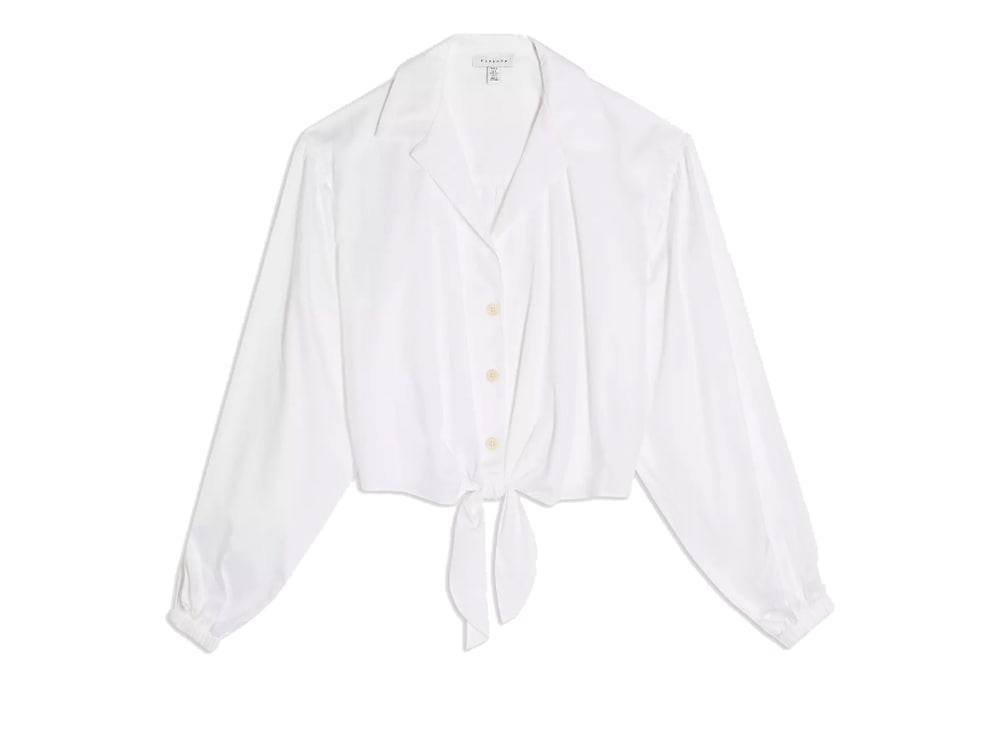 camicia-bianca-annodata-topshop